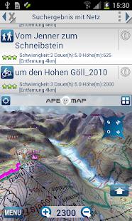 Outdoor and Hiking Navigation - screenshot thumbnail