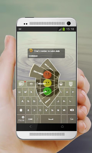 【免費個人化App】淺淺一笑 GO Keyboard Theme-APP點子