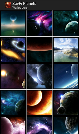Sci-FI Planets - HD Wallpapers