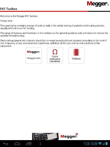 Megger PAT Toolbox