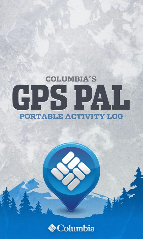 Columbia's GPS PAL™ - screenshot