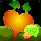 GO SMS Pro Veggie Hearts Theme icon