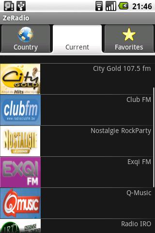 ZeRadio - Internet Radio - screenshot