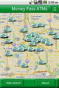 MoneyPass ATM Locator - screenshot thumbnail