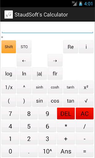 StaudSoft's Calculator