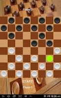 Screenshot of Checkers Board Game