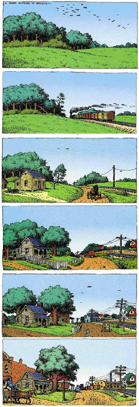 A Short History of America Part 1 by Robert Crumb.