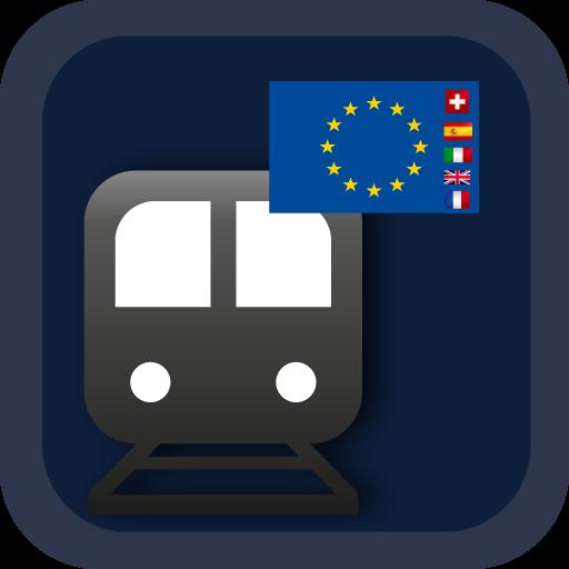 EURAIL MAP+5