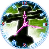 Jesus Cross Clock