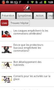 Sensibilisation aux commotions- screenshot thumbnail