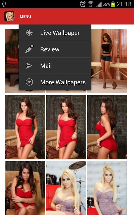 Madison Ivy Live Wallpaper - screenshot