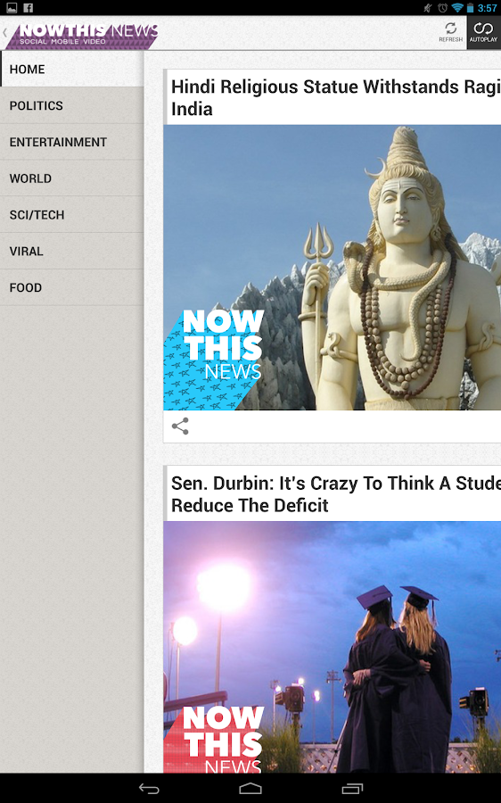NowThis News - screenshot