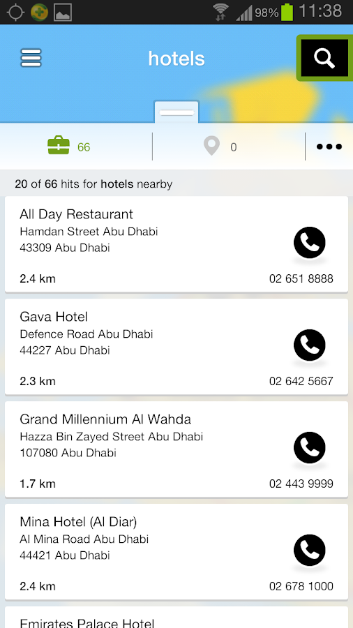 Connect.ae - Local Search UAE- screenshot