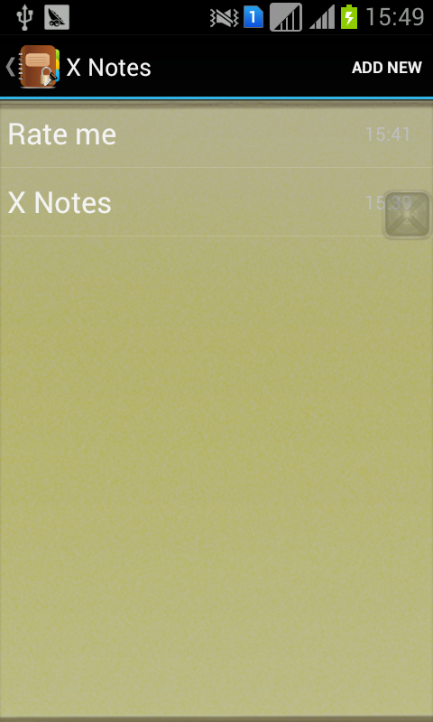 X Private Notes(secret diary) - screenshot