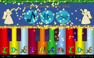 Screenshot of Xmas Music Piano Player Baby