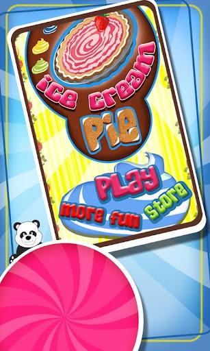 アイス クリーム パイ メーカー子供のゲーム