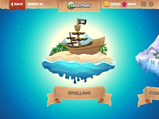 LiteracyPlanet screenshot