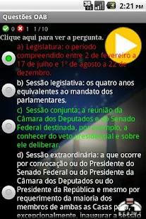 Questões OAB- screenshot thumbnail