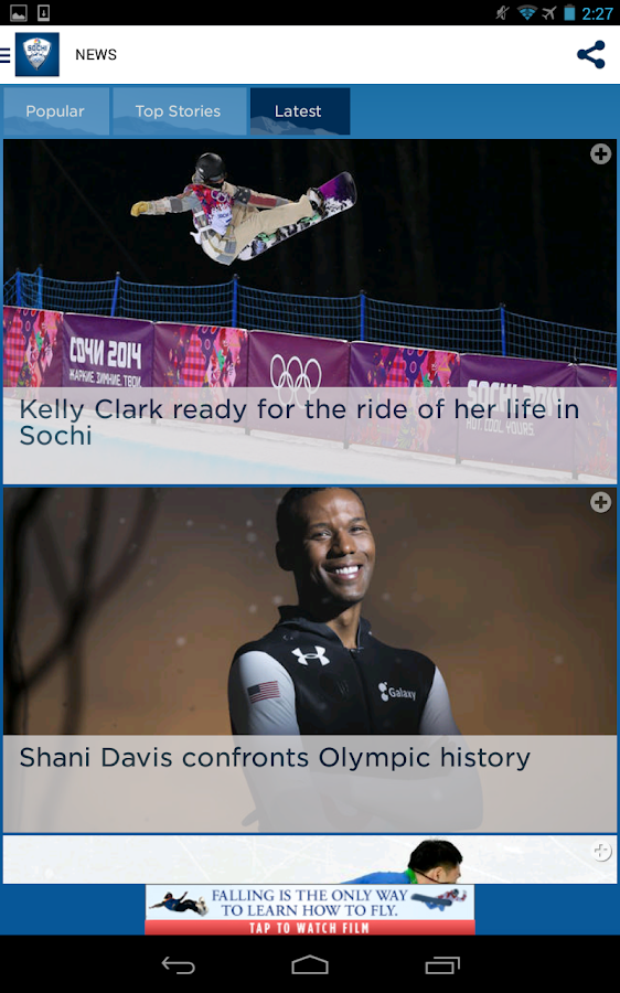 NBC Olympics Highlights- screenshot