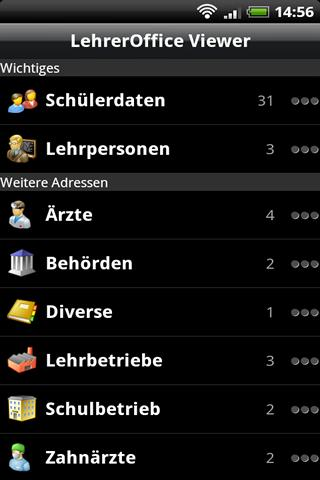 LehrerOffice Viewer - screenshot