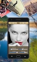 Screenshot of Tweak My Pic.