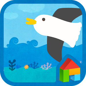 download Sea Story dodol theme apk