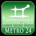 Dnepropetrovsk (Metro 24) logo