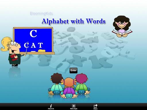 Alphabet with Words