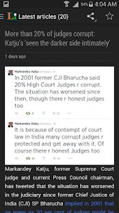 Legally India News for Lawyers- screenshot thumbnail