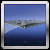 B2 Stealth Combat Plane HD LWP