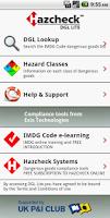 Screenshot of Hazcheck DGL Lite