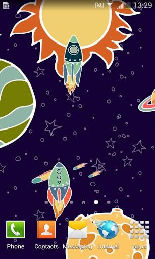 Colorful Space Cartoon LWP