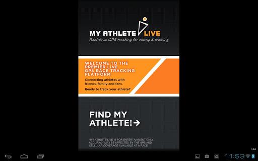 MyAthlete Live Tracker