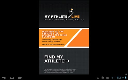 MyAthlete Live Tracker- screenshot thumbnail