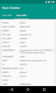 Root Checker - screenshot thumbnail