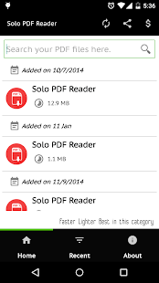 Solo PDF Reader- screenshot thumbnail