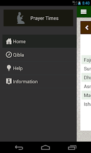 Prayer times,Qibla,Azan,Islam - screenshot thumbnail