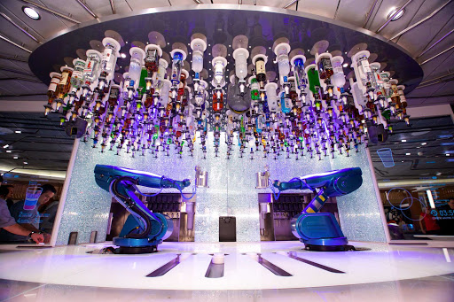 Quantum-of-the-Seas-Bionic-Bar - The Bionic Bar on Quantum of the Seas.