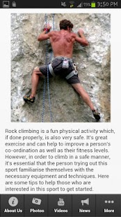Rock Climbing Tips - screenshot thumbnail