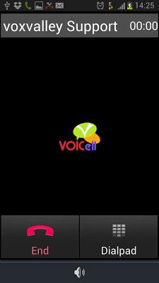 Voicell - screenshot