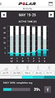 Screenshot of Polar Flow - Activity & Sports