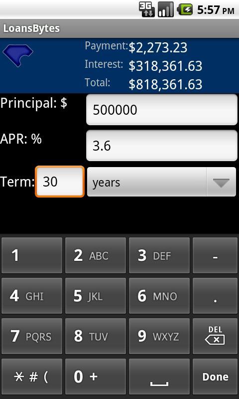 LoansByte- screenshot