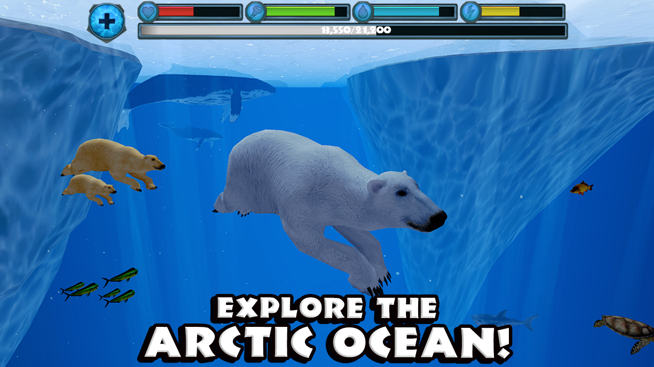 Polar Bear Simulator- screenshot