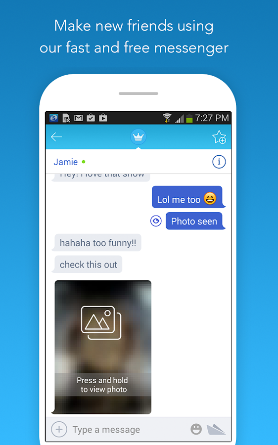 Chatous- screenshot