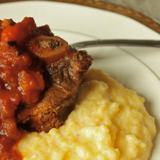 Saffron and Tomato-Braised Beef Short Ribs