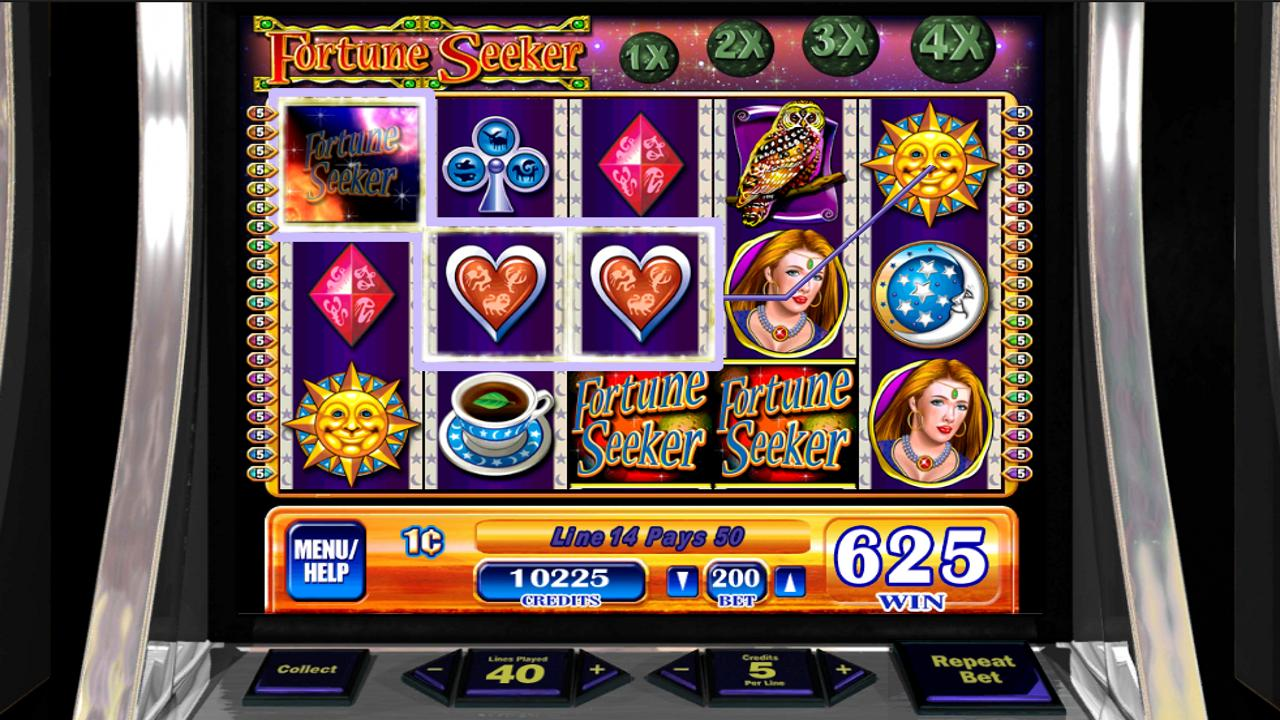 Fortune Seeker HD Slot Machine - screenshot