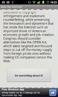 Save the Internet- screenshot thumbnail
