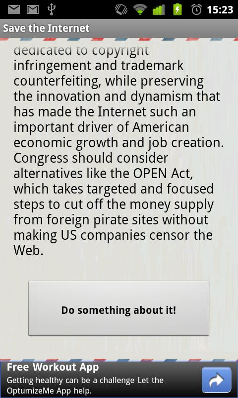 Save the Internet- screenshot