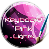 Keyboard Pink Lights