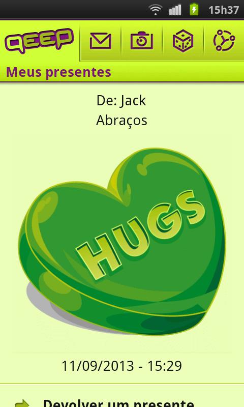 Qeep: Bate-Papo Amigos Namoro - screenshot